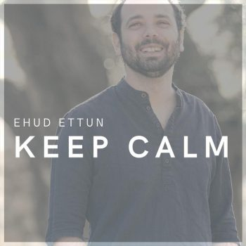 Ehud Ettun - Keep Calm single front cover