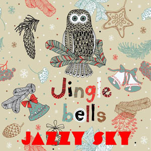 Jazzy Sky - Jinglebells single cover art