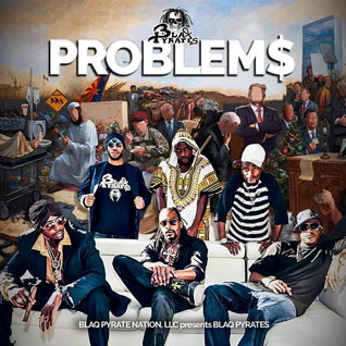 Blaq Pyrates - Problems single cover art