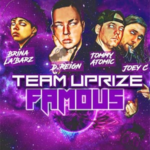 Team Uprize - Famous single cover